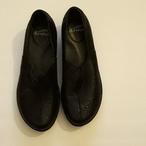 Dansko black leather  nwot